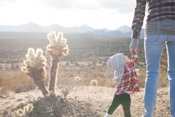 2 i baby cactus child
