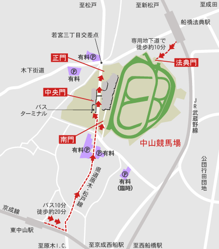 Pic access map